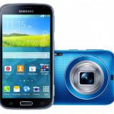 Telefon Samsung, Albastru, 64GB, Neblocat, Single SIM, Octa core - Samsung S5 K Zoom 10 procesoare 21 Mpix real camera cu obiectiv semipro si bliz