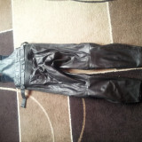 Pantaloni piele moto - Imbracaminte moto