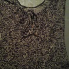 Bluza dama, Maneca scurta, Casual, Bumbac - Bluza tip ie Basic Style marimea M