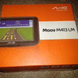 Gps Mio Technology Mio M413LM Full Europe / nou, sigilat / ecran 4, 3 inches / 4 GB / Gps Mio Technology camion, Toata Europa, Lifetime, Car Sat Nav, 20 canale