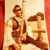 Fotografie - Taran Ceh in Costum Popular , dim. = 10,5 x 14,3 cm , color