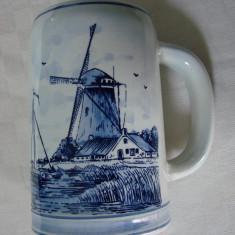 Halba olandeza din portelan DELFT BLUE (1)