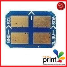 CHIP CYAN 106R01206 compatibil XEROX PHASER 6110 - Chip imprimanta