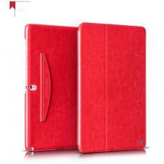 Husa tableta piele fina HOCO, SAMSUNG GALAXY TAB PRO 12.2, smart cover, pe ROSU, 12.2 inch