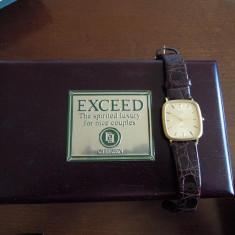 Exceed by Citizen - aur, ceas de lux - Ceas barbatesc Citizen, Quartz