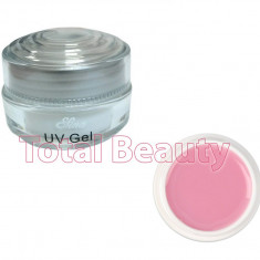 Gel unghii - Gel Constructie Unghii UV Sina Deluxe 15 ml Light Pink - Gel UV Roz Laptos