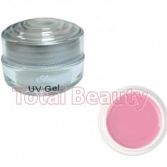 Gel unghii - Gel Constructie Unghii UV Sina Deluxe 15 ml Light Pink - Gel UV Roz Laptos