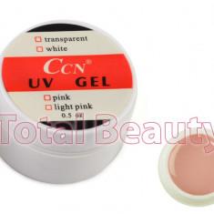 Gel unghii - Gel UV CCN 15 gr Cover - Gel UV Camuflaj unghii false