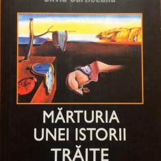 MARTURIA UNEI ISTORII TRAITE - Silviu Curticeanu - Biografie