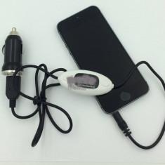 Modulator FM auto - Modulator FM cu functie HANDSFREE
