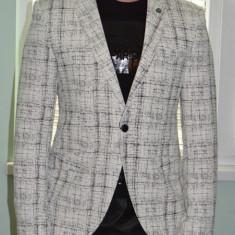 Sacou barbati, 1 nasture, Normal, Bumbac - Sacou Sacouri barbati model 2015 casual / elegant