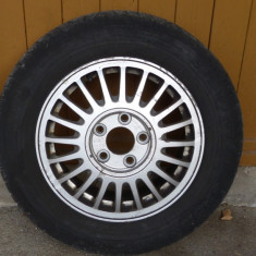 4 roti cu anvelope Pirelli pe genti aliaj 15