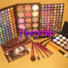 Trusa machiaj MAC 183 culori 7 pensule fond de ten corector concealer eyeliner - Trusa make up