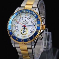 Ceas Barbatesc Rolex, Elegant, Analog, Placat cu aur - CEAS ROLEX YACHT MASTER 2 (DAYTONA)-SUPERB-PRET IMBATABIL-CALITATEA 1-POZE REALE
