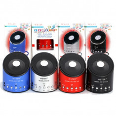 Boxe Telefon - BOXA Telefon portabila cu MP3, RADIO, cablu USB, Slot de CARD, Acumulator Inclus