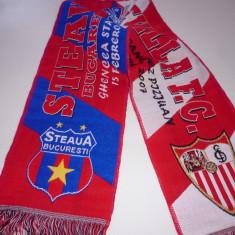 Fular fotbal STEAUA BUCURESTI - FC SEVILLA (2007)