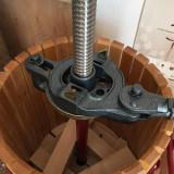 Teasc PROFESIONAL struguri manual cu clichet BCM SNC 40 cos lemn