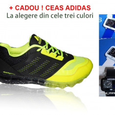 Adidasi barbati - Adidasi ADIDAS Springblade Neon + CADOU ! CEAS ADIDAS LA ALEGERE