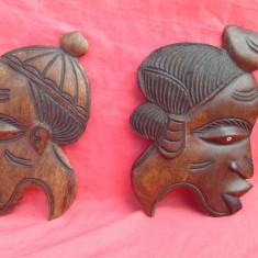 Arta din Africa - Arta Africana - cuplu din lemn de abanos !!!