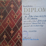 HOPCT DIPLOMA SPORTIVA NR 4 CLUBUL SPORTIV STEAUA-TENIS CLUB 1978 TURNEU FINAL - Diploma/Certificat