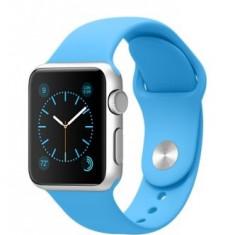Apple Watch Sport 38mm | Carcasa aluminiu | Curea sport bleu - Smartwatch