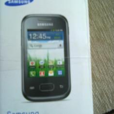 Telefon mobil Samsung Galaxy Pocket, Negru - SAMSUNG GALAXY POCKET S 5300 cu accesorii !