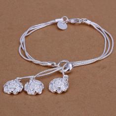 Bratara din argint - Bratara argint 925; 19.6 cm lungime