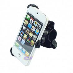 Suport telefon bicicleta - Suport telefon pentru bicicleta / motocicleta pentru iphone 5 G + folie ecran