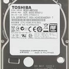 Hard disk laptop 500GB Toshiba MQ01ABD032 - HDD laptop Toshiba, 500-999 GB, Rotatii: 5400, SATA2, 8 MB