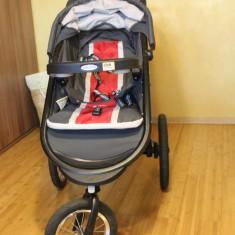 Carut+scaun auto Graco-Fold Jogger XT Click Connect™ Travel System - Carucior copii 2 in 1 Graco, Altele, Pliabil