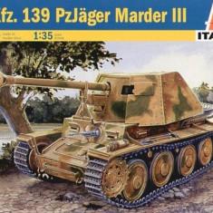 + Macheta 1/35 Italeri 6210 - Sd.Kfz.139 Panzerjager Marder III + - Macheta auto