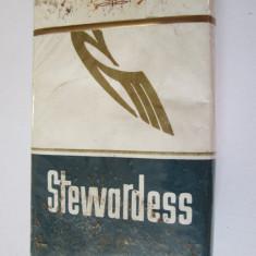 PACHET NOU TIGARI COLECTIE STEWARDESS DIN ANII 80 - Pachet tigari