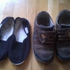 Pantofi copii nr 30 (9 1/2) marca Clarks Bonus espadrile Decathlon, Baieti, Piele naturala