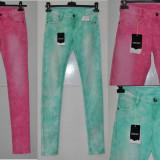 Die For It - Blugi femei Strech 2 nuante WMN Washed Jeans Marime XXS/XS