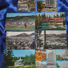 Carte Postala, Circulata, Fotografie, Romania de la 1950 - Lot 8 CP Campulung – Moldovenesc. (Carti postale vechi, Vederi Romania)