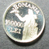 Miniatura argint-100 000 lei 1946 proof rara ! - Moneda Romania, An: 1973