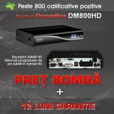 Receiver satelit - Dreambox DM800 HD Sim 2.10 SSL 84D ALPS M + Stick WIFI Optional 12Luni Garantie!