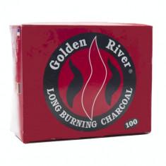 CARBUNI Golden River long burning charcoal - Arome narghilea