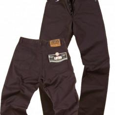 Pantaloni barbati maro - talie inalta - LOTUS jeans W 31 (Art.131)