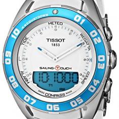 Ceas de Dama tissot - Tissot Women's TIST0564201701600 Sailing-Touch Digital Analog | 100% original, import SUA, 10 zile lucratoare af22508