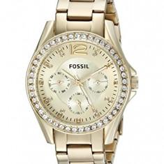 Fossil Women's ES3203 Riley Multifunction Gold-Tone | 100% original, import SUA, 10 zile lucratoare af22508 - Ceas dama