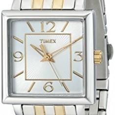 Timex Women's T2P376 Elevated Classics Rectangle | 100% original, import SUA, 10 zile lucratoare af22508 - Ceas dama