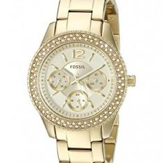Fossil Women's ES3589 Stella Gold-Tone Stainless | 100% original, import SUA, 10 zile lucratoare af22508 - Ceas dama
