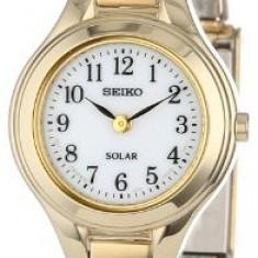 Seiko Women's SUP102 Solar Expansion Classic | 100% original, import SUA, 10 zile lucratoare af22508 - Ceas dama