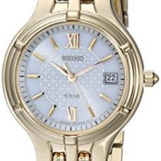 Seiko Women's SUT018 White Dial Gold-Tone | 100% original, import SUA, 10 zile lucratoare af22508 - Ceas dama
