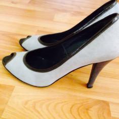 Pantofi damă Christelen-B (Musette), Marime: 37, Culoare: Gri