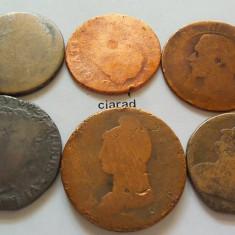 Monede Straine, Europa, An: 1790 - Lot / Set 6 MONEDE FOARTE VECHI *cod 600