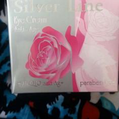 Silver crema anti age cu ioni de argine pentru riduri si cearcăn - Crema anticearcane