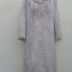 Palton dama - Superba haina din blana naturala de vulpe polara