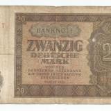 LL bancnota Germania 20 marci 1948 VG (a) - bancnota europa